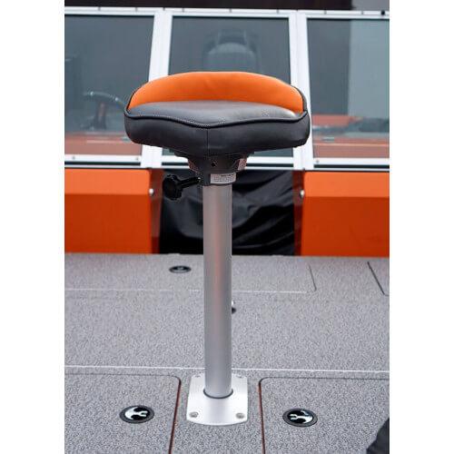 Cyklo sedadlo s pneumatickou nohou