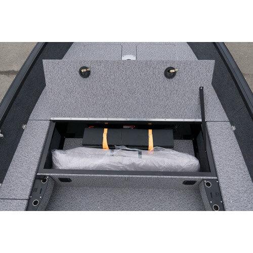 Extra úložný box pre inštaláciu elektrických batérií
