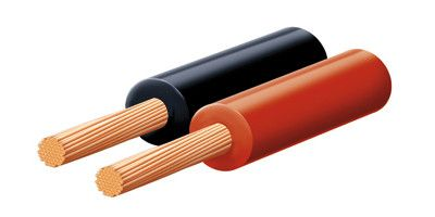 Napájací kábel čierny 10 mm