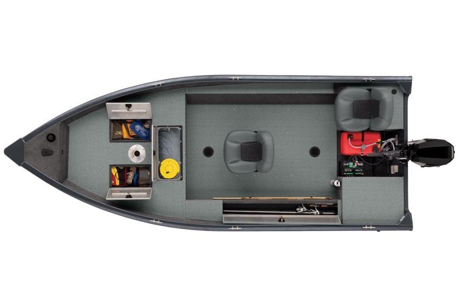 TRACKER GV-16 Laker DLX T loď pre rybára