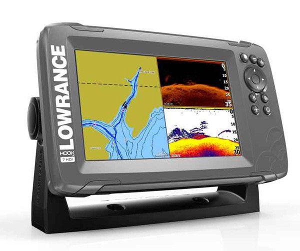 Sonar Lowrance HOOK2 7 HDI Combo SplitShot s GPS