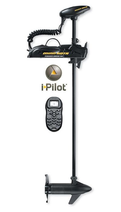 Elektromotor Powerdrive 55lbs./137cm/i-Pilot