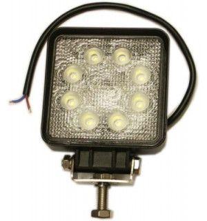 Pracovný štvorcový svetlomet LED 8 - 30 V