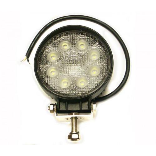 Rybársky čln Pracovný okrúhly svetlomet LED 8-30V