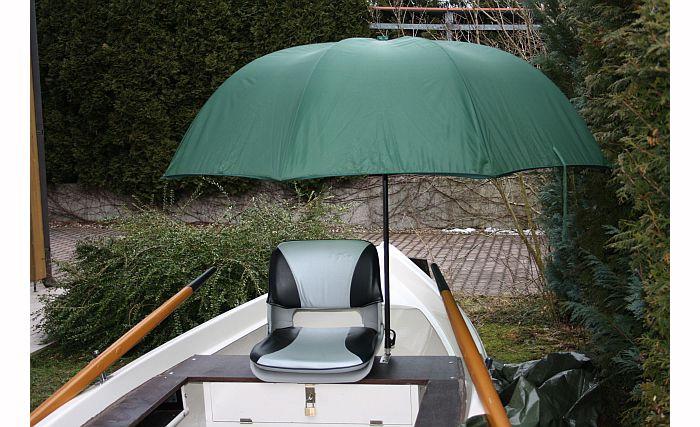 Držiak na dáždnik na čln