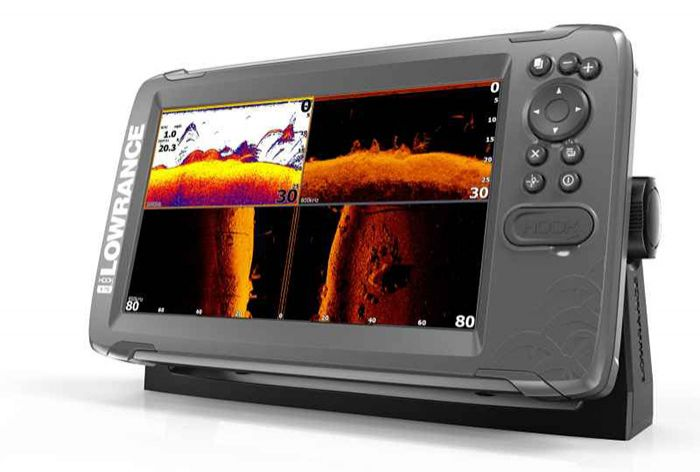 Sonar Lowrance HOOK2 9 TS Combo TripleShot s GPS
