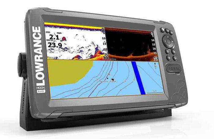 Sonar Lowrance HOOK2 9 HDI Combo SplitShot s GPS
