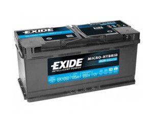 Batéria AGM Exide Micro-hybrid 105 Ah/12V/950 A
