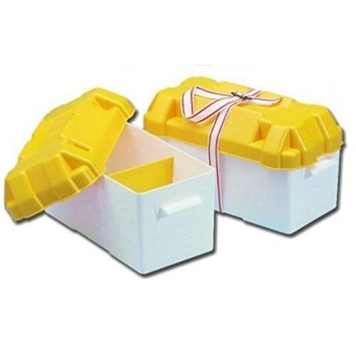 Rybársky čln Box na batériu bielo/žltý