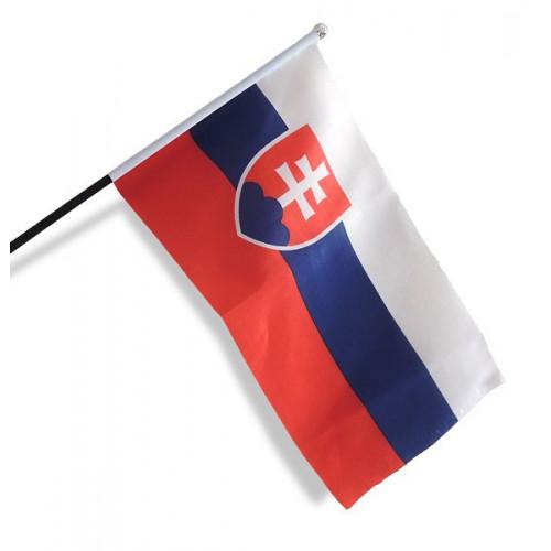 Rybársky čln Vlajka Slovensko 20x30 cm