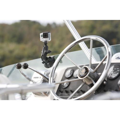 Rybársky čln RAM kompozitný držiak na kameru s prísavkou