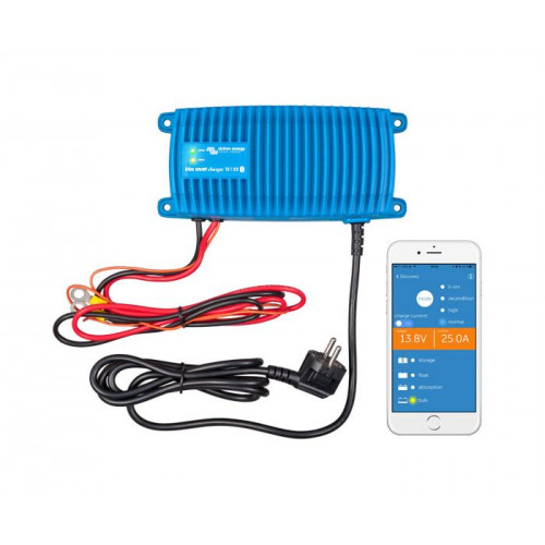 Rybársky čln Nabíjačka batérií BlueSmart 12V/17A IP67, vodotesná