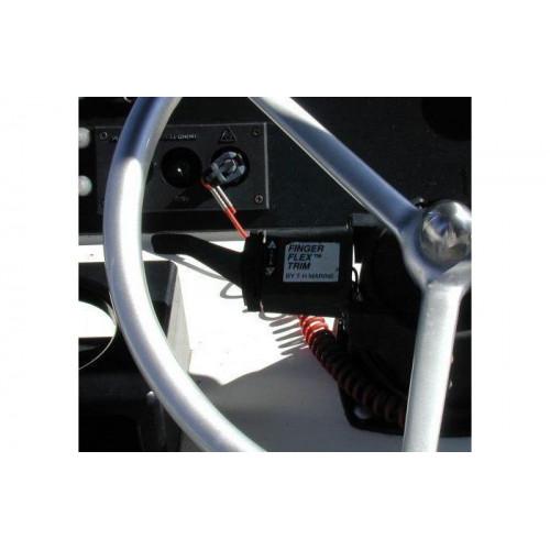 Rybársky čln Ovládanie Jack Plate FingerFlex Steering Trim
