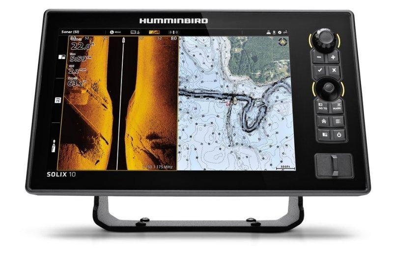 Sonar Humminbird SOLIX 10 CHIRP MSI+ GPS G2