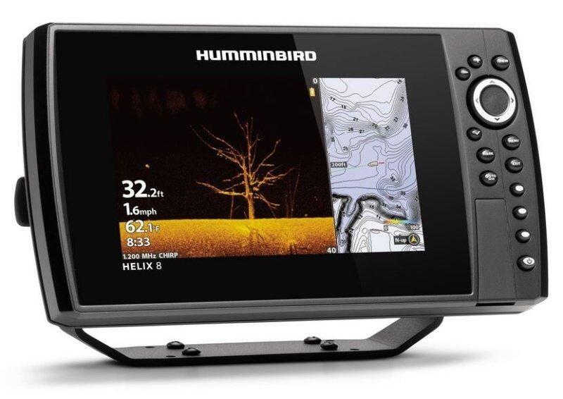 Sonar Humminbird HELIX 8x CHIRP MSI+ GPS G3N