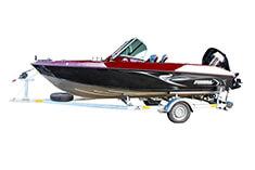 Referencia Finval FishPro 505 CB + Honda BF100, Nowa Sol