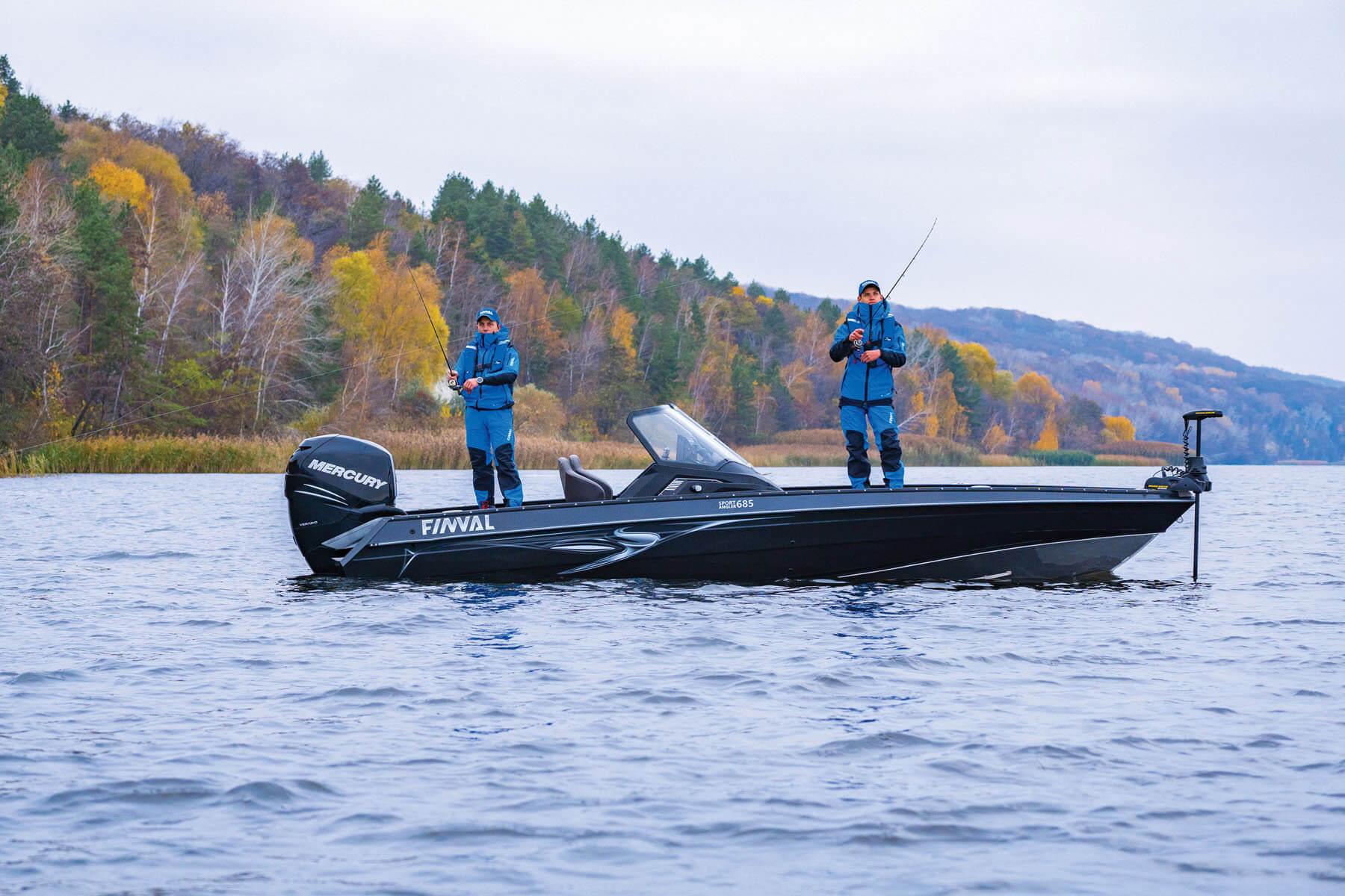 Referencia Finval 685 Sport Angler + Honda BF250, Budapešť